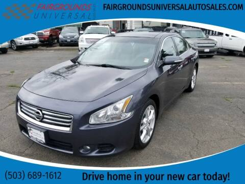 2012 Nissan Maxima for sale at Universal Auto Sales in Salem OR