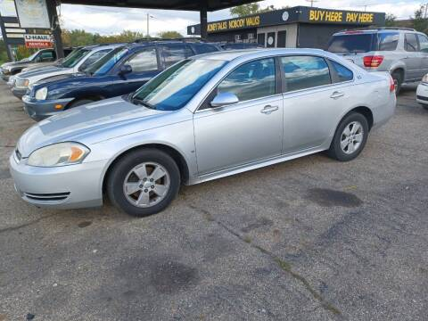 2009 Chevrolet Impala for sale at CASH CARS in Circleville OH