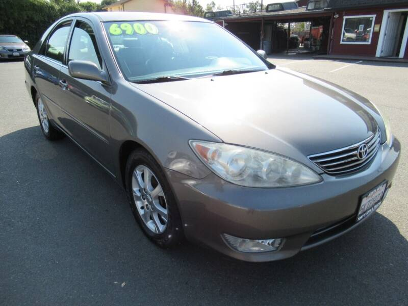 2005 Toyota Camry for sale at Tonys Toys and Trucks in Santa Rosa CA