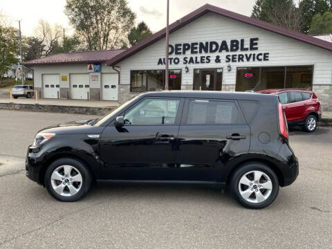 2017 Kia Soul for sale at Dependable Auto Sales and Service in Binghamton NY