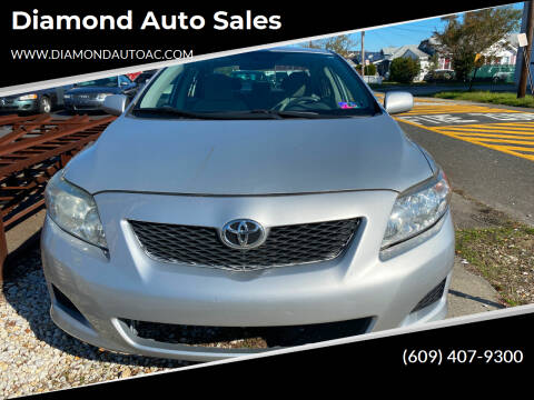 2010 Toyota Corolla for sale at Diamond Auto Sales in Pleasantville NJ