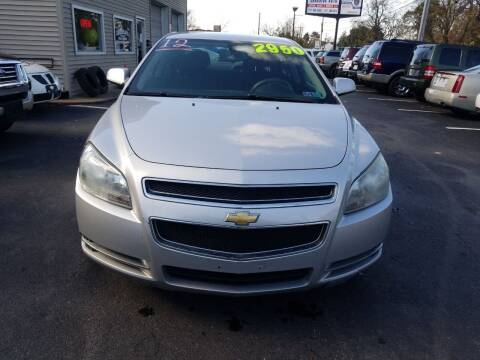 2012 Chevrolet Malibu for sale at Roy's Auto Sales in Harrisburg PA