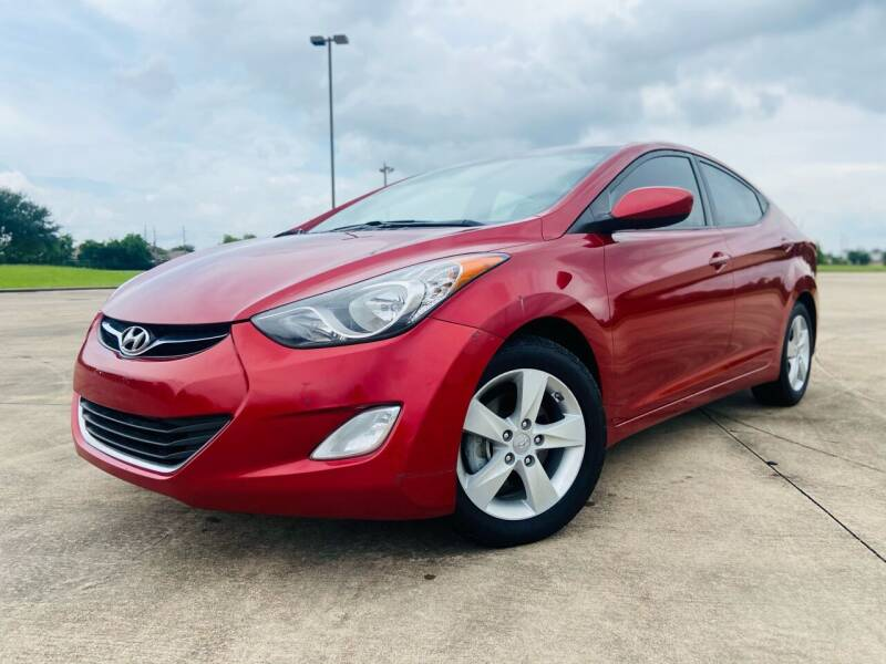 2013 Hyundai Elantra for sale at AUTO DIRECT Bellaire in Houston TX