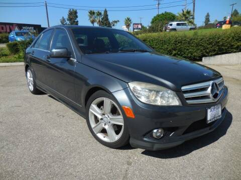 2010 Mercedes-Benz C-Class for sale at ARAX AUTO SALES in Tujunga CA