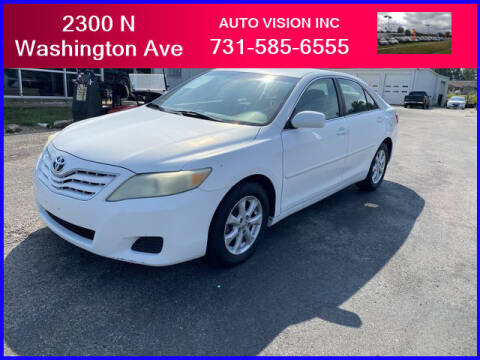 2010 Toyota Camry for sale at Auto Vision Inc. in Brownsville TN
