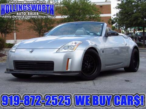 2004 Nissan 350Z for sale at Hollingsworth Auto Sales in Raleigh NC