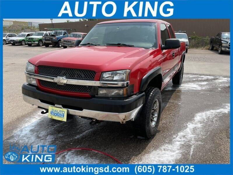 2003 Chevrolet Silverado 2500HD for sale at Auto King in Rapid City SD