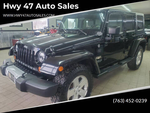 2008 Jeep Wrangler Unlimited for sale at Hwy 47 Auto Sales in Saint Francis MN