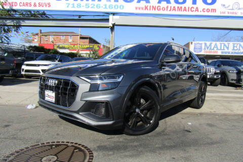 2019 Audi Q8 for sale at MIKEY AUTO INC in Hollis NY