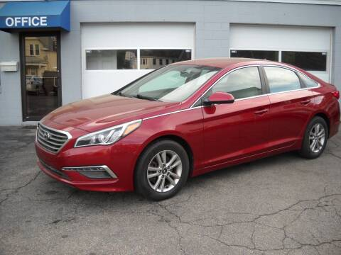 2015 Hyundai Sonata for sale at Best Wheels Imports in Johnston RI