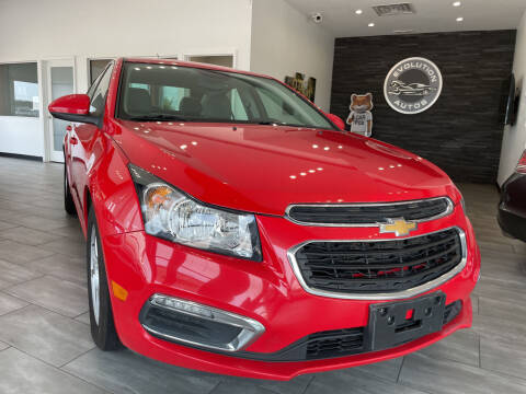 2016 Chevrolet Cruze Limited for sale at Evolution Autos in Whiteland IN