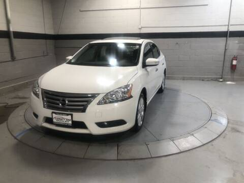 2015 Nissan Sentra for sale at Luxury Car Outlet in West Chicago IL