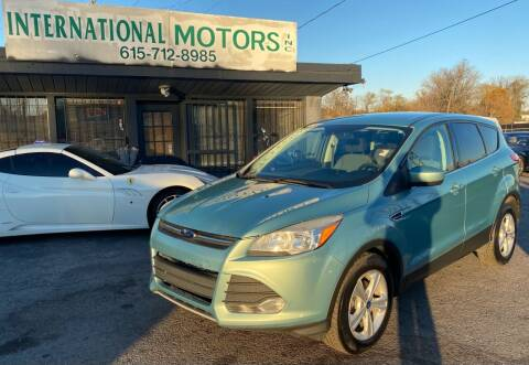 2013 Ford Escape for sale at International Motors Inc. in Nashville TN