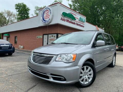 2016 Chrysler Town and Country for sale at GMA Automotive Wholesale in Toledo OH