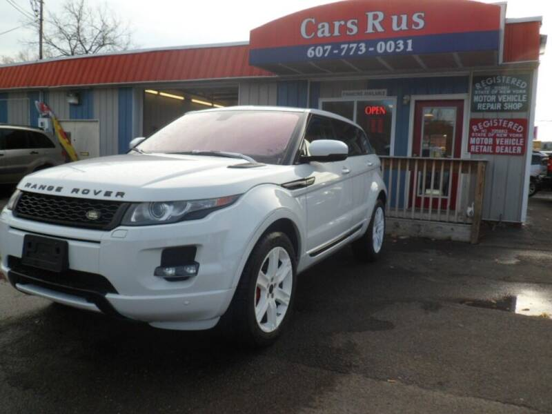 2012 Land Rover Range Rover Evoque for sale at Cars R Us in Binghamton NY