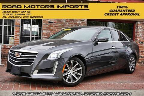 2016 Cadillac CTS for sale at Road Motors Imports in El Cajon CA