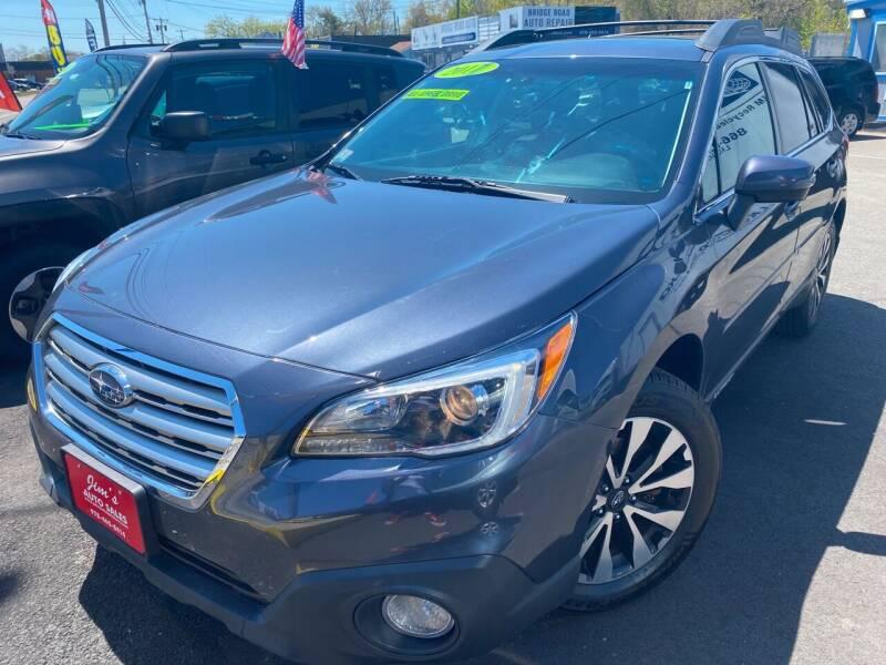 2017 Subaru Outback for sale at Bridge Road Auto in Salisbury MA
