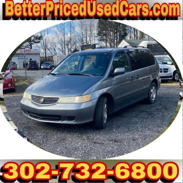1999 Honda Odyssey for sale at Better Priced Used Cars in Frankford DE