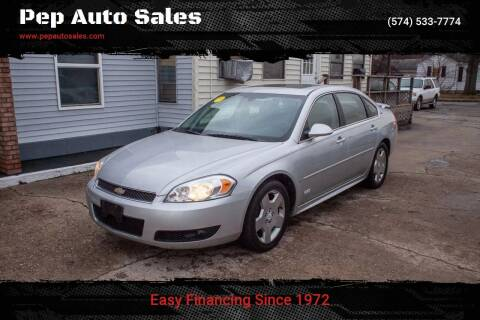 2009 Chevrolet Impala for sale at Pep Auto Sales in Goshen IN
