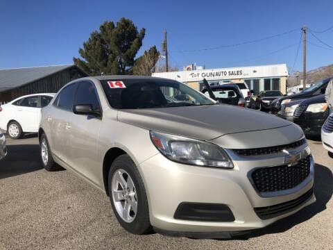 2014 Chevrolet Malibu for sale at Top Gun Auto Sales, LLC in Albuquerque NM