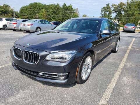 2013 BMW 7 Series for sale at Atlanta Motor Sales in Loganville GA