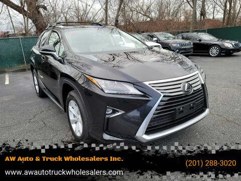 2017 Lexus RX 350 for sale at AW Auto & Truck Wholesalers  Inc. in Hasbrouck Heights NJ