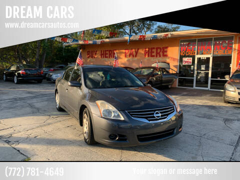 2010 Nissan Altima for sale at DREAM CARS in Stuart FL