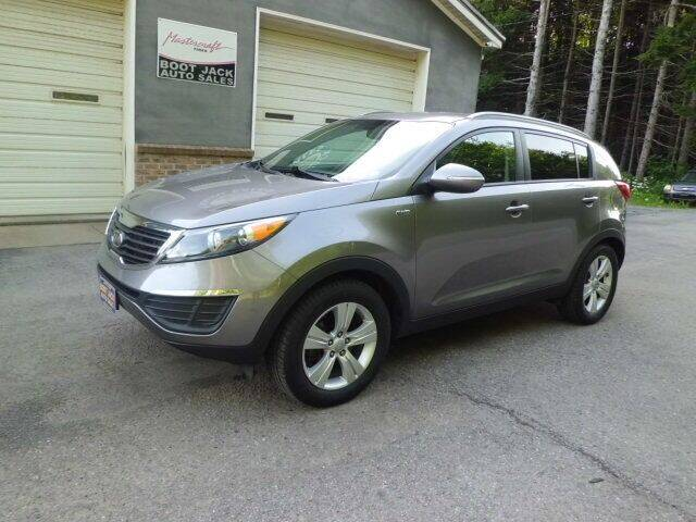 2012 Kia Sportage for sale at Boot Jack Auto Sales in Ridgway PA