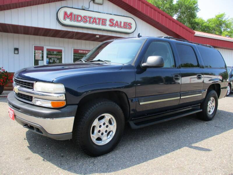 2006 Chevrolet Suburban for sale at Midstate Sales in Foley MN