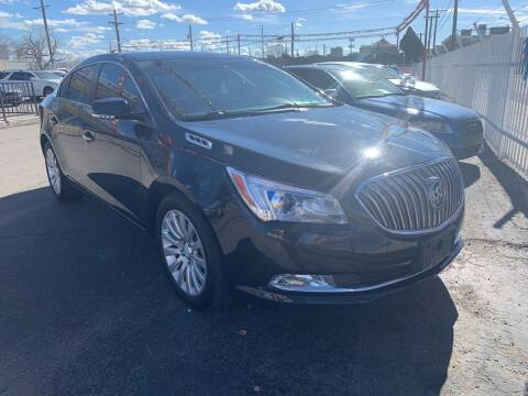 2016 Buick LaCrosse for sale at Robert B Gibson Auto Sales INC in Albuquerque NM