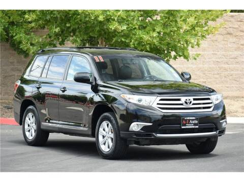 2011 Toyota Highlander for sale at A-1 Auto Wholesale in Sacramento CA