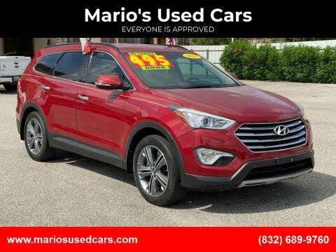 2015 Hyundai Santa Fe for sale at Mario's Used Cars - Pasadena Location in Pasadena TX