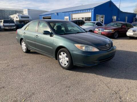 2002 Toyota Camry for sale at AFFORDABLY PRICED CARS LLC in Mountain Home ID