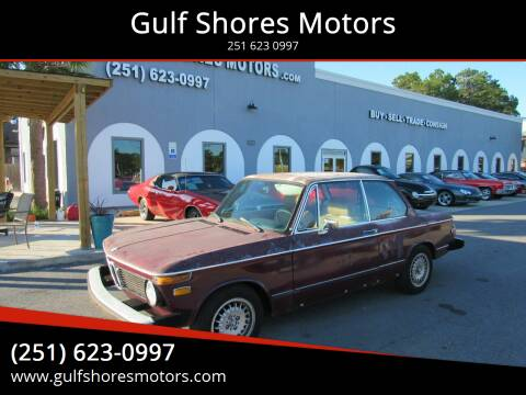 1974 BMW 2 Series for sale at Gulf Shores Motors in Gulf Shores AL