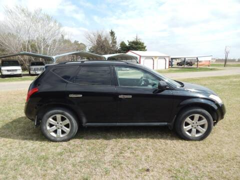 2006 Nissan Murano for sale at Wheels Unlimited in Smith Center KS