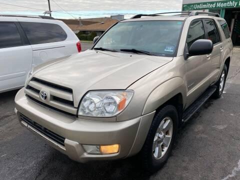 2003 Toyota 4Runner for sale at MFT Auction in Lodi NJ