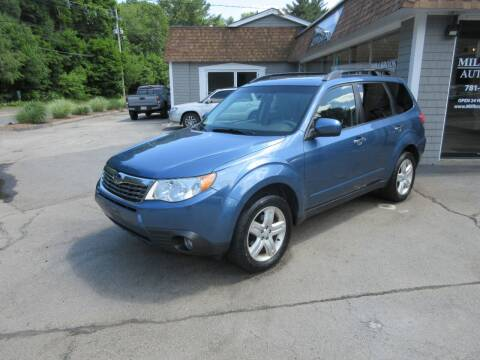 2009 Subaru Forester for sale at Millbrook Auto Sales in Duxbury MA