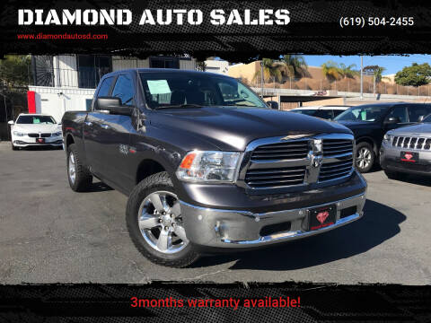 2017 RAM Ram Pickup 1500 for sale at DIAMOND AUTO SALES in El Cajon CA