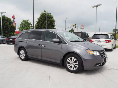 2014 Honda Odyssey for sale at SIMOTES MOTORS in Minooka IL