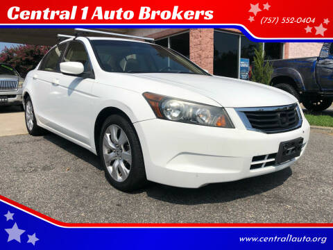 2008 Honda Accord for sale at Central 1 Auto Brokers in Virginia Beach VA