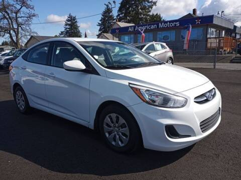 2015 Hyundai Accent for sale at All American Motors in Tacoma WA