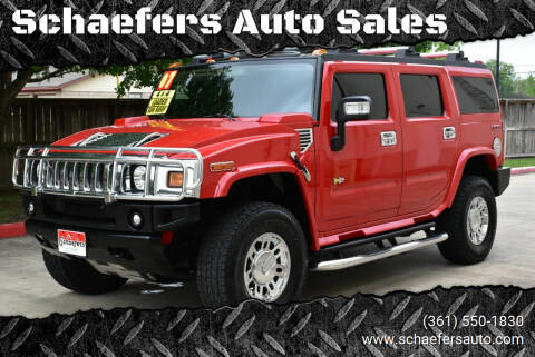 2007 HUMMER H2 for sale at Schaefers Auto Sales in Victoria TX