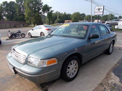 2005 Ford Crown Victoria for sale at High Country Motors in Mountain Home AR