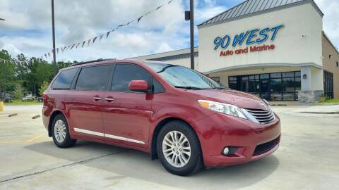 2015 Toyota Sienna for sale at 90 West Auto & Marine Inc in Mobile AL