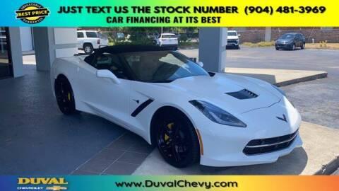 2016 Chevrolet Corvette for sale at Duval Chevrolet in Starke FL