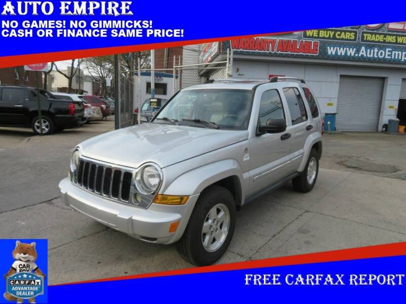 2005 Jeep Liberty for sale at Auto Empire in Brooklyn NY