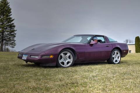 1996 Chevrolet Corvette for sale at Hooked On Classics in Watertown MN