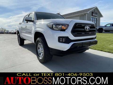 2017 Toyota Tacoma for sale at Auto Boss in Woods Cross UT