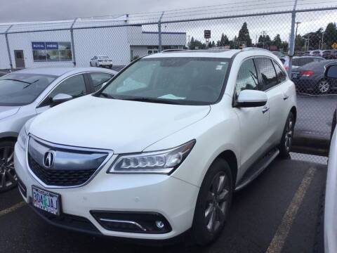 2014 Acura MDX for sale at Royal Moore Custom Finance in Hillsboro OR