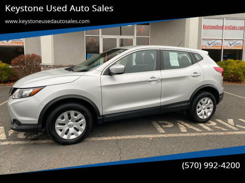 2019 Nissan Rogue Sport for sale at Keystone Used Auto Sales in Brodheadsville PA